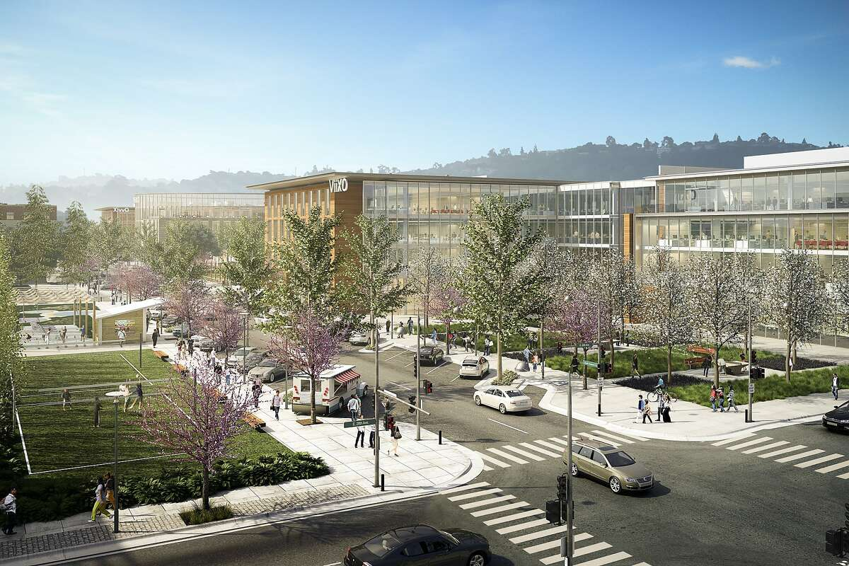 Ground is being broken next week on the first of five office buildings totaling up to 1.5 million square feet in a development dubbed Bay Meadows Station 4.