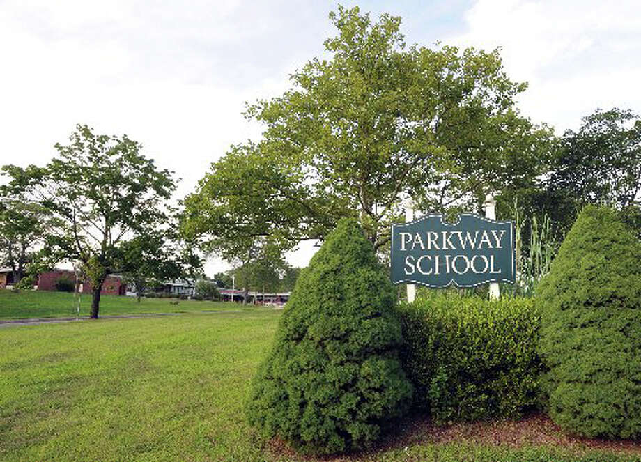 The state has designated Parkway School as a Green Leaf School Photo: File Photo / Greenwich Time File Photo