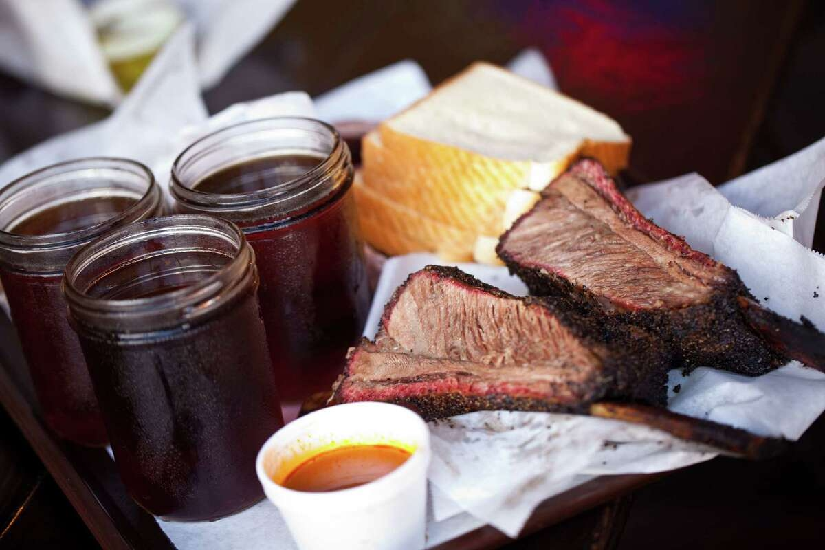 """Louie Mueller Barbecue in Taylor has long been a """"destination-worthy"""" barbecue joint."""