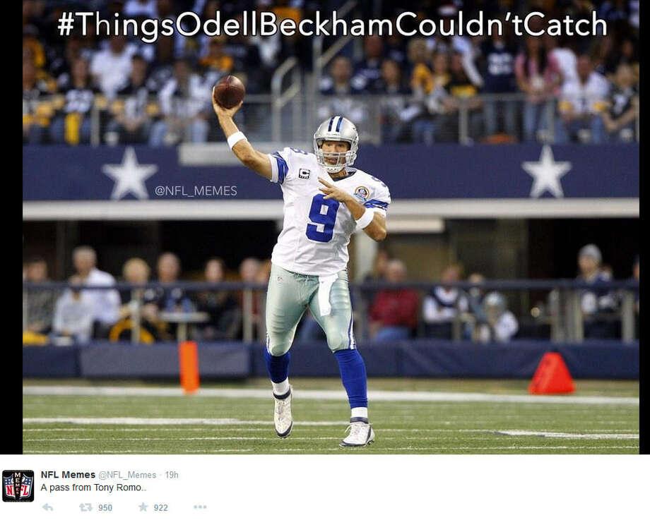 November 27, 2014Philadelphia Eagles @ Dallas Cowboys, Score: 33-10Photo by @NFL_Memes