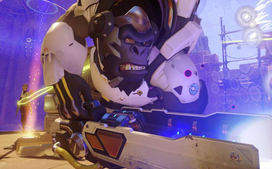 """Characters in Blizzard Entertainment's """"Overwatch"""" video game include a glasses-wearing gorilla. (Blizzard Entertainment Inc.) Photo: Handout / McClatchy-Tribune News Service / Blizzard Entertainment Inc"""