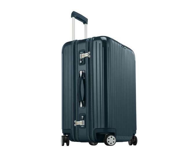 This undated image provided by Rimowa shows the Rimowa Salsa Deluxe luggage. Yahoo Travel Editor Pau