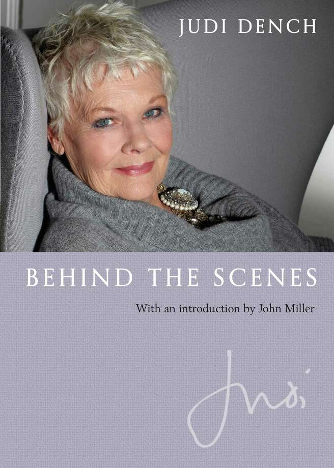 """Judi Dench shares pictures that span her entire career in the new photo book memoir, """"Behind the Scenes."""" Photo: Contributed Photo / Connecticut Post Contributed"""