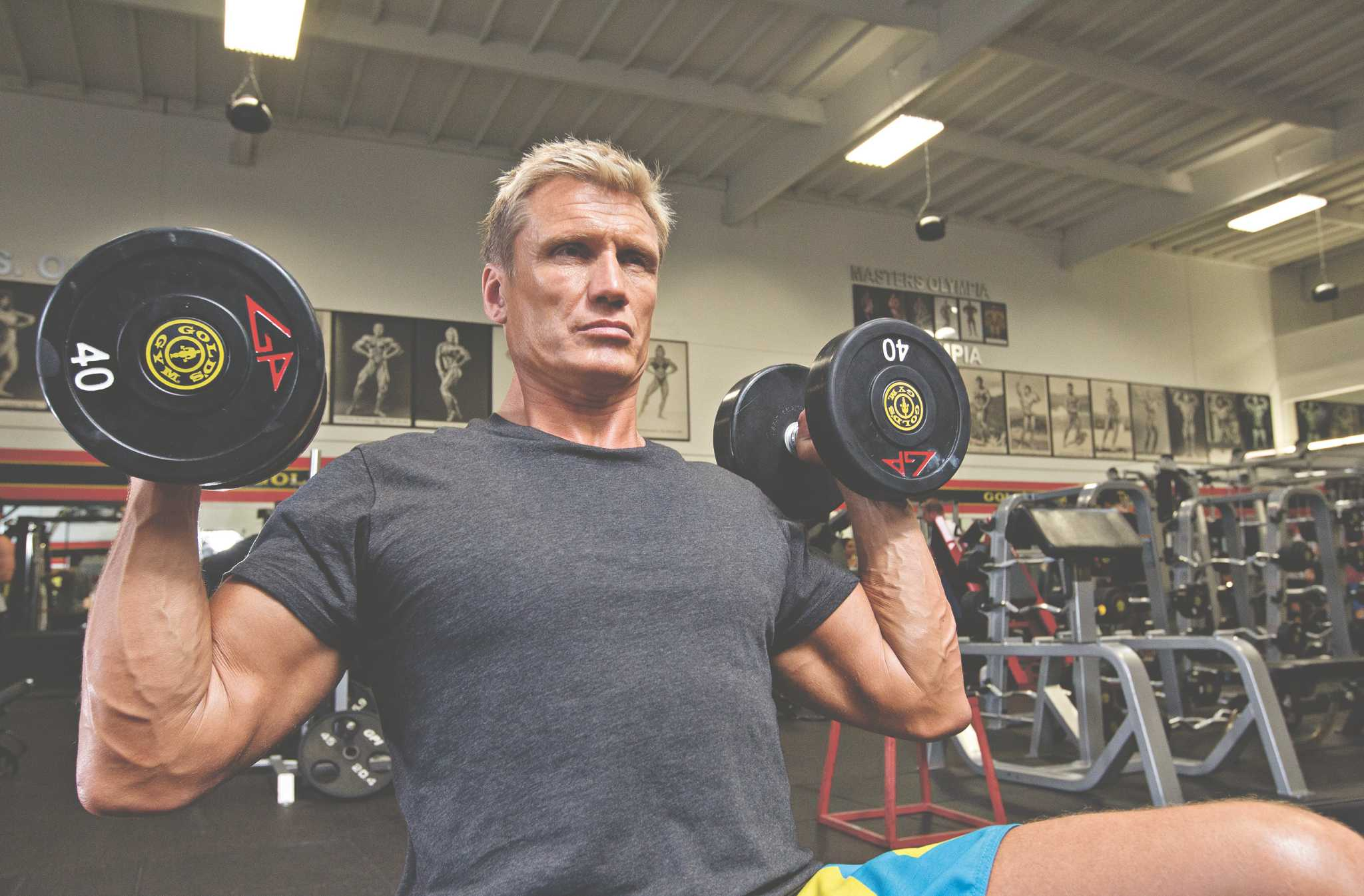 Dolph Lundgren shares action-hero training secrets ...