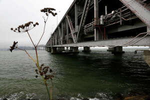 New Bay Bridge plan: Turn piers into park - Photo