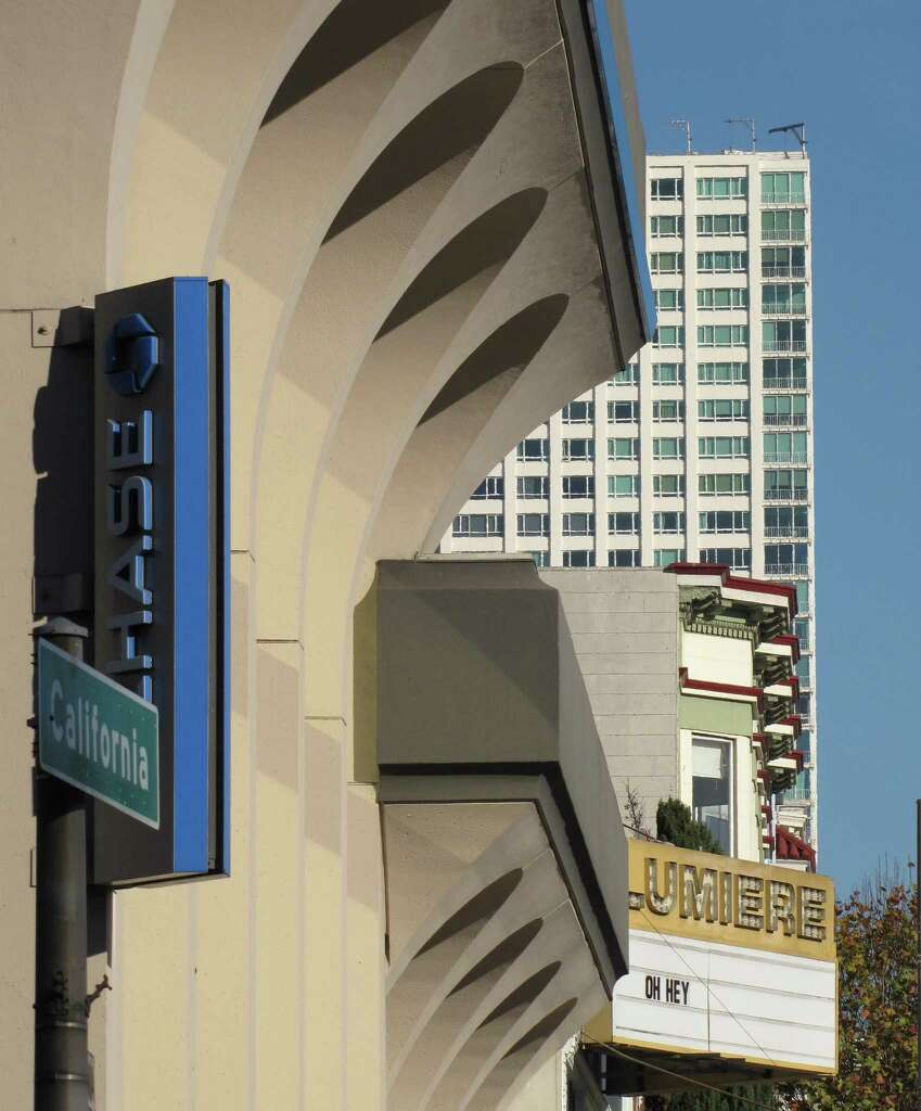 the bank at the corner of polk and california streets built in 1970 is - Classical Modern Architecture