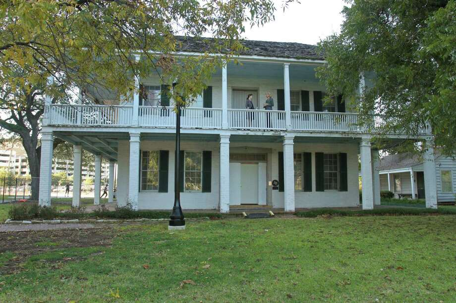 The Kellum-Noble house is perhaps the historical centerpiece of Sam Houston Park. In November, The Heritage Society launched a $1.7 million bottom-to-top repair of the Kellum-Noble house.  Photo: Gary Fountain, Freelance / Copyright 2014 by Gary Fountain