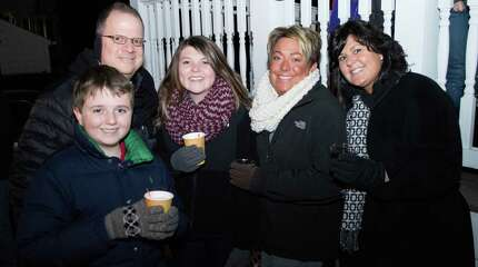 The Milford tree lighting and festival of lights took place Friday on the Milford Green. Everyone who attended got to enjoy some holiday music, horse and carriage rides, and some free hot chocolate. Were you SEEN?