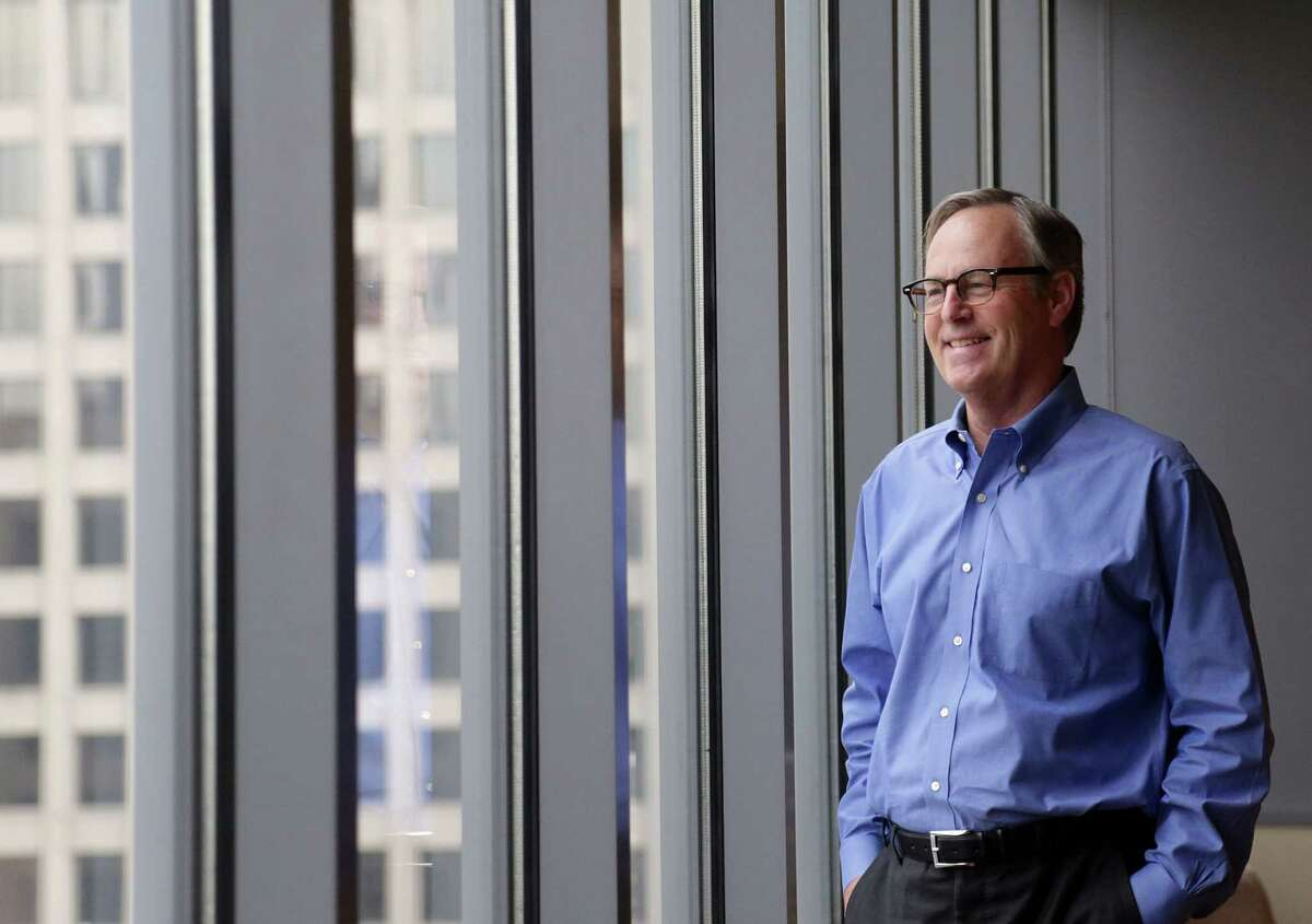 William Thomas, CEO of Houston-based EOG Resources, says the company will start completing drilled wells if U.S. crude reaches $65 a barrel. (Billy Smith II / Chronicle)