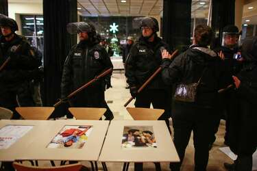 Charge: Redmond man at Black Friday protest attacked cop