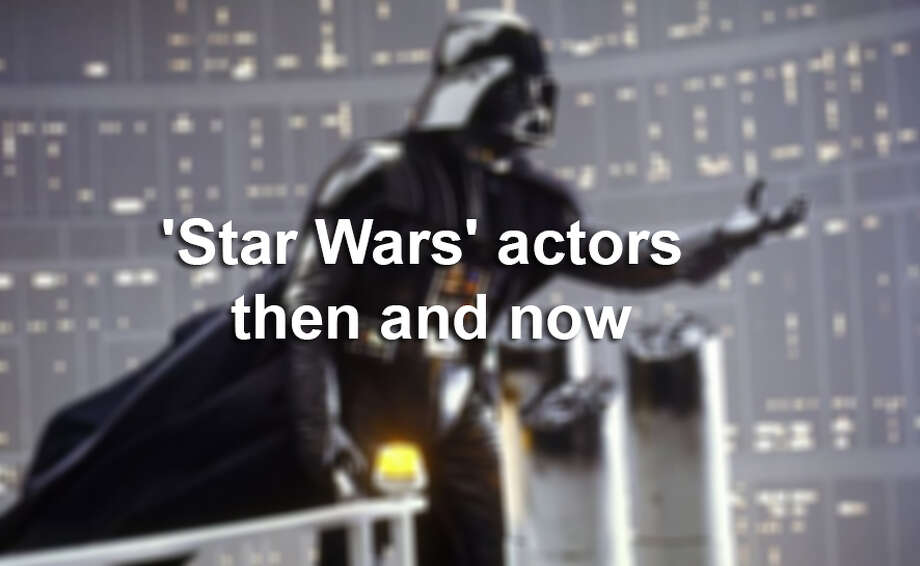 'Star Wars' actors then and now. Photo: File Photo