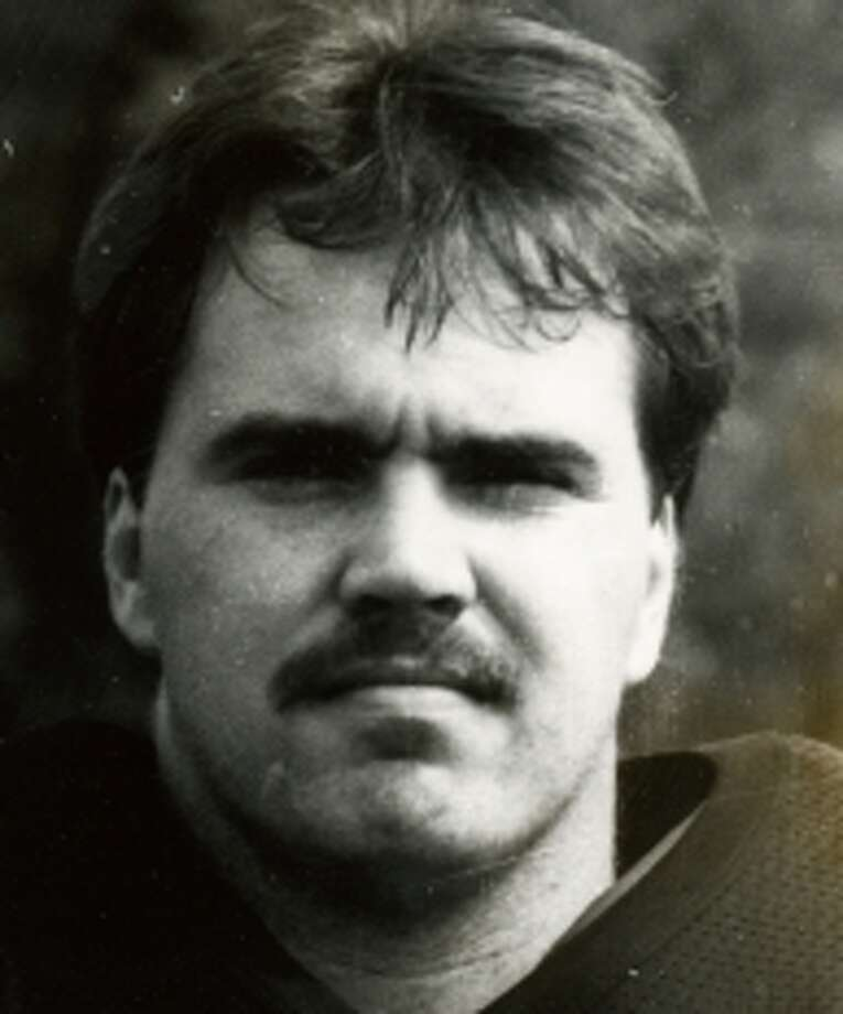 Mike McCarthy as a player at Baker University. Photo: Associated Press / Baker University Sports Informat