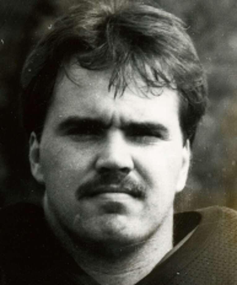 Mike McCarthy as a player at Baker University. Photo: Associated Press / Baker University Sports Informat