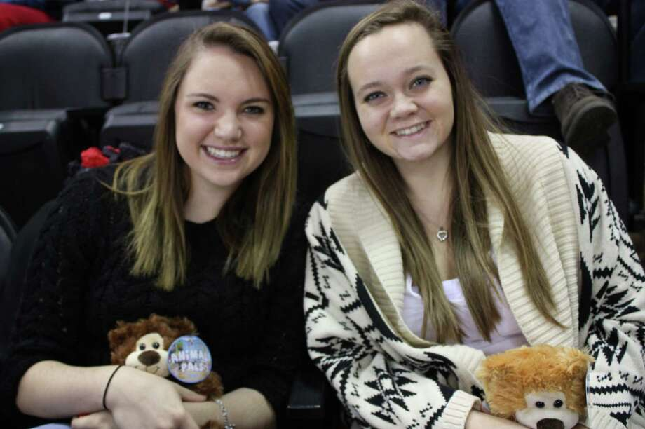 It was the annual teddy bear toss night at the AT&T Center as the Rampage took on the Oklahoma City Barons. Photo: By Libby Castillo, For MySA.com