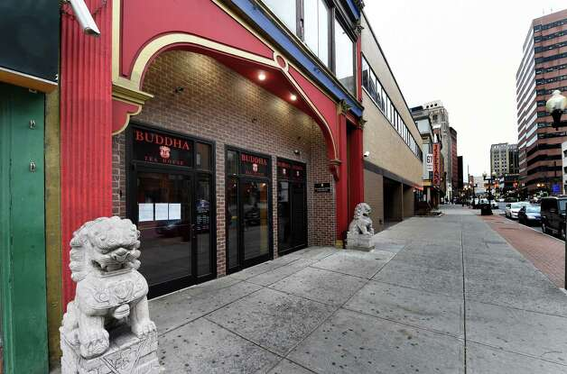 Exterior view of the Buddha Tea House Wednesday morning Nov. 26, 2014  in Albany, N.Y.     (Skip Dickstein/Times Union) Photo: SKIP DICKSTEIN / 00029648A