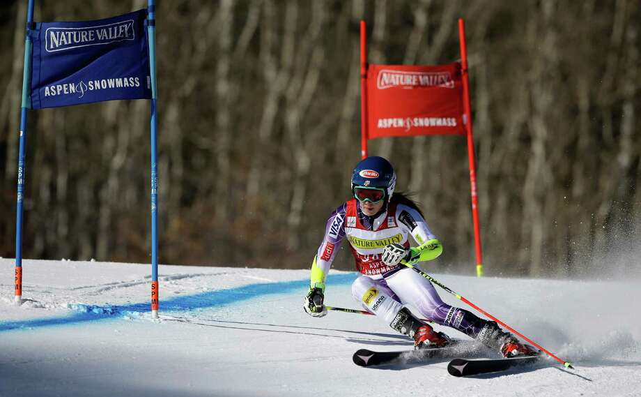 ASPEN, CO - NOVEMBER 29:  Mikaela Shiffrin of the United States competes in the first run of the ladies giants slalom during the 2014 Audi FIS Ski World Cup at the Nature Valley Aspen Winternational at Aspen Mountain on November 29, 2014 in Aspen, Colorado.  (Photo by Ezra Shaw/Getty Images) ORG XMIT: 523107379 Photo: Ezra Shaw / 2014 Getty Images