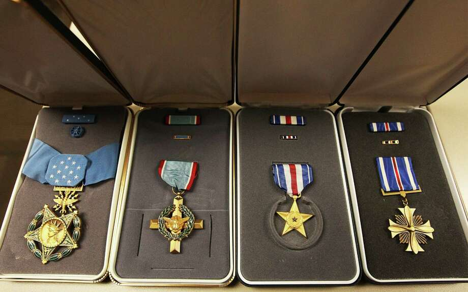 Office full of medals is s a s fort knox san antonio for Air force awards and decoration