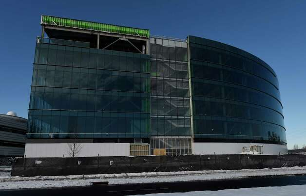 Construction continues on the new building at the Nano College Friday afternoon Nov. 28, 2014 in Albany, N.Y.     (Skip Dickstein/Times Union) Photo: SKIP DICKSTEIN / 00029650A