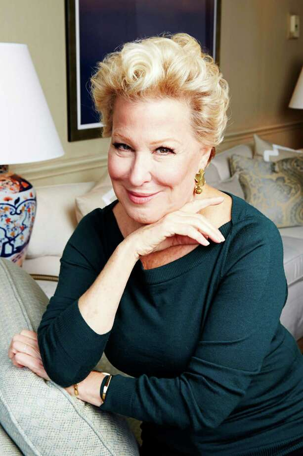 """Bette Midler poses for a portrait in promotion of her upcoming album """"It's the Girls!"""" on Tuesday, Oct. 7, 2014 in New York. (Photo by Dan Hallman/Invision/AP) Photo: Dan Hallman / Invision"""