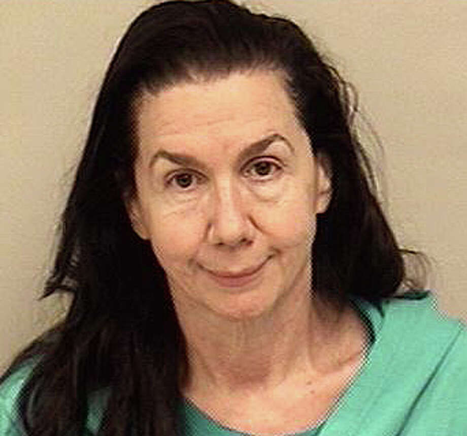 Virginia Abbotts, 58, of Mills Street was charged with first-degree criminal trespassing and breach of peace in connection with a Beachside Avenue property Saturday. Photo: Westport Police Department / Westport News