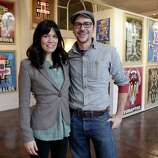 Lena and Matt Reynoso, founders of the Compound Gallery & Studios.
