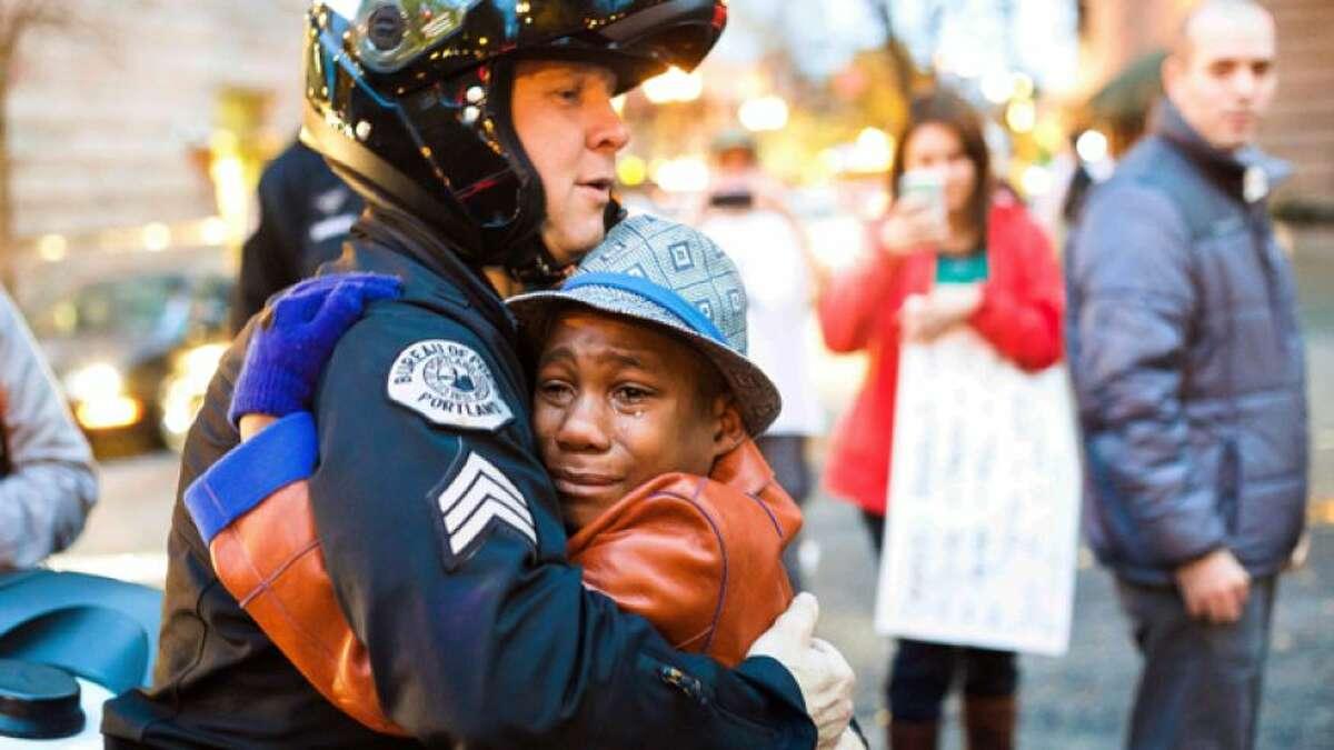 Angels III: The Ferguson photo that went viral.