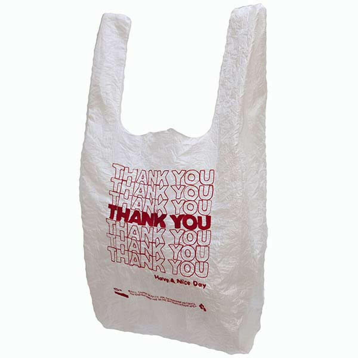 Thank You Bag washable, reuseable tote, $28, by Lauren DiCioccio at the Museum of Craft and Design. 2569 Third St., San Francisco; (415) 773-0303; www.sfmcd.org. 11 a.m.-6 p.m. Tues.-Wed., 11 a.m.-7 p.m. Thurs., 11 a.m.-6 p.m. Fri.-Sat., noon-5 p.m. Sun. Closed Christmas Day.