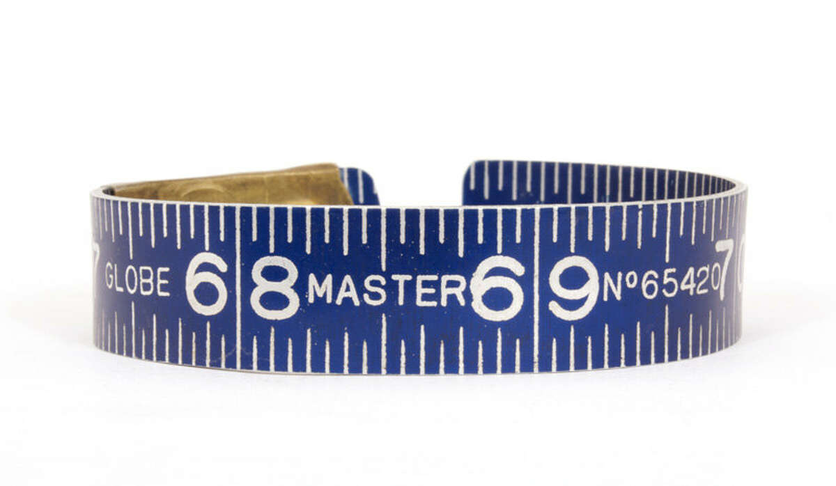 Vintage ruler bracelets, $64-$84 by Jacqueline von Tesmar, at the Museum of Craft and Design. 2569 Third St., San Francisco; (415) 773-0303; www.sfmcd.org. 11 a.m.-6 p.m. Tues.-Wed., 11 a.m.-7 p.m. Thurs., 11 a.m.-6 p.m. Fri.-Sat., noon-5 p.m. Sun. Closed Christmas Day.