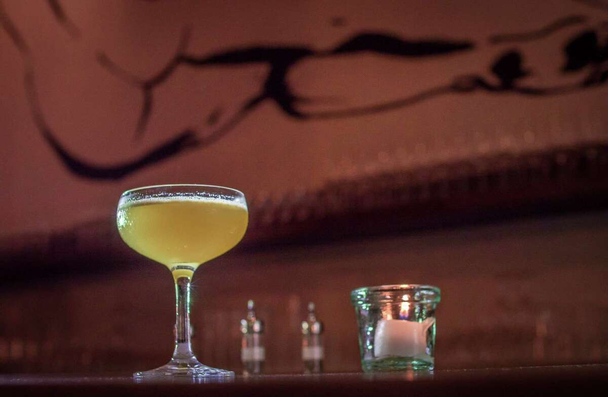 The Sleepyhead cocktail at Trou Normand.