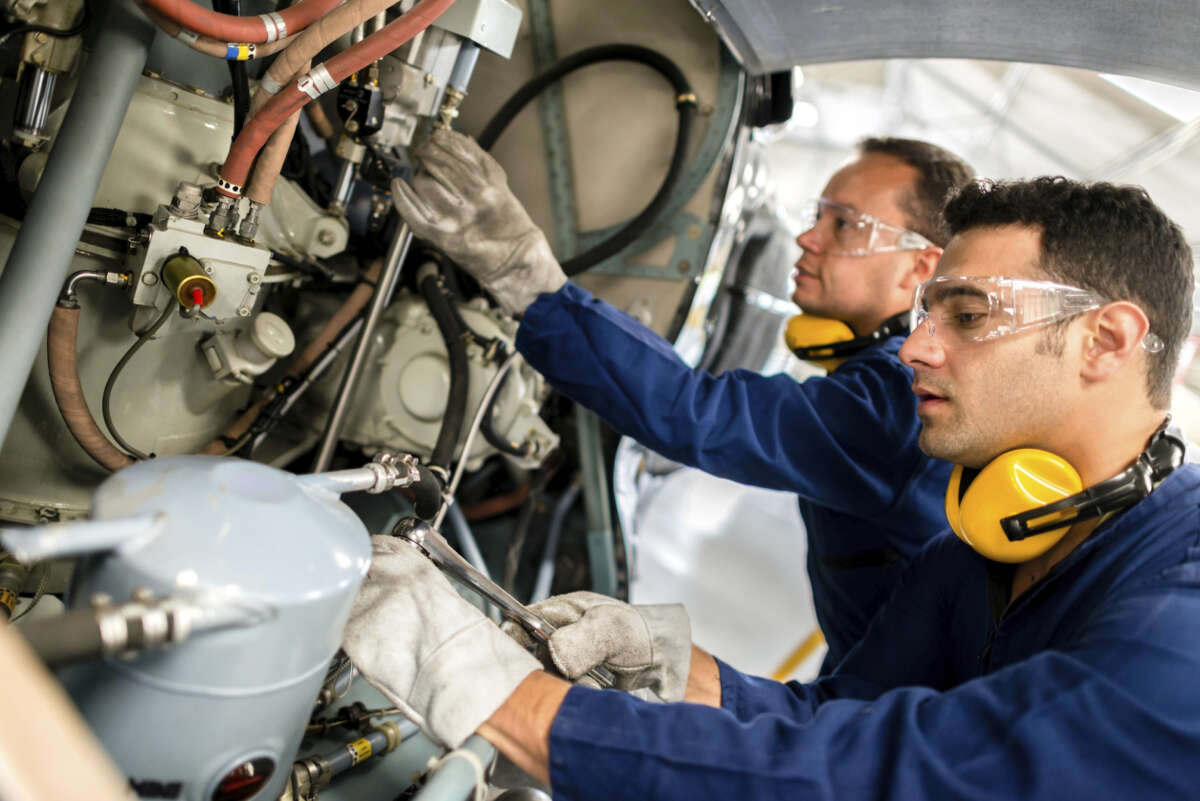 Aerospace engineers Salary: $106,716. Number of jobs: 8,009.