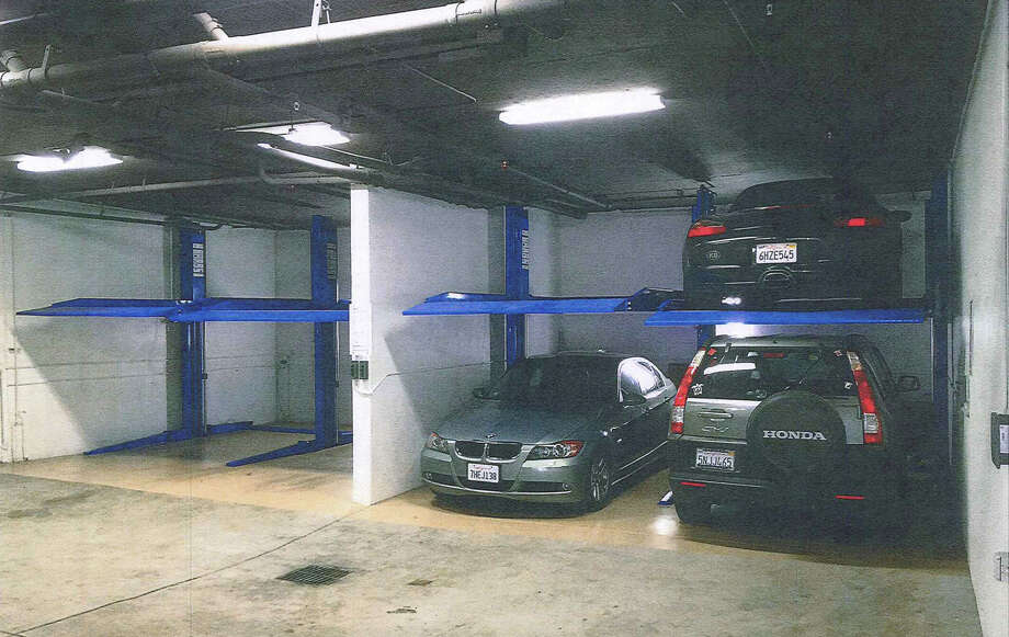 Port Commissioner Mel Murphy and his company were fined for illegally reinstalling car-parking stackers in the garage at his San Francisco condominium building after the Department of Building Inspection ordered the equipment removed. Photo: SF Dept. Of Building Inspection / ONLINE_CHECK