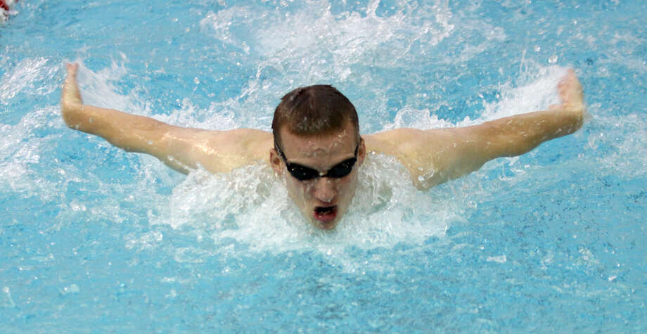 Shenendehowa graduate Adam Kalish of the RPI men's swimming team. (RPI sports information)