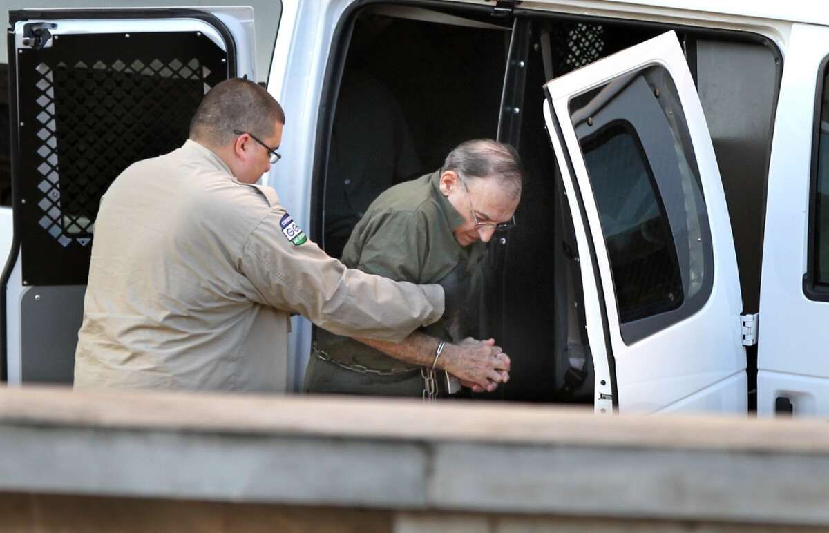 Henri Morris arrives at the Federal Courthouse Monday, Sept. 29, 2014, in Houston, Texas. The Houston software company executive is accused of drugging female colleagues then sexually assaulting them. ( Gary Coronado / Houston Chronicle )
