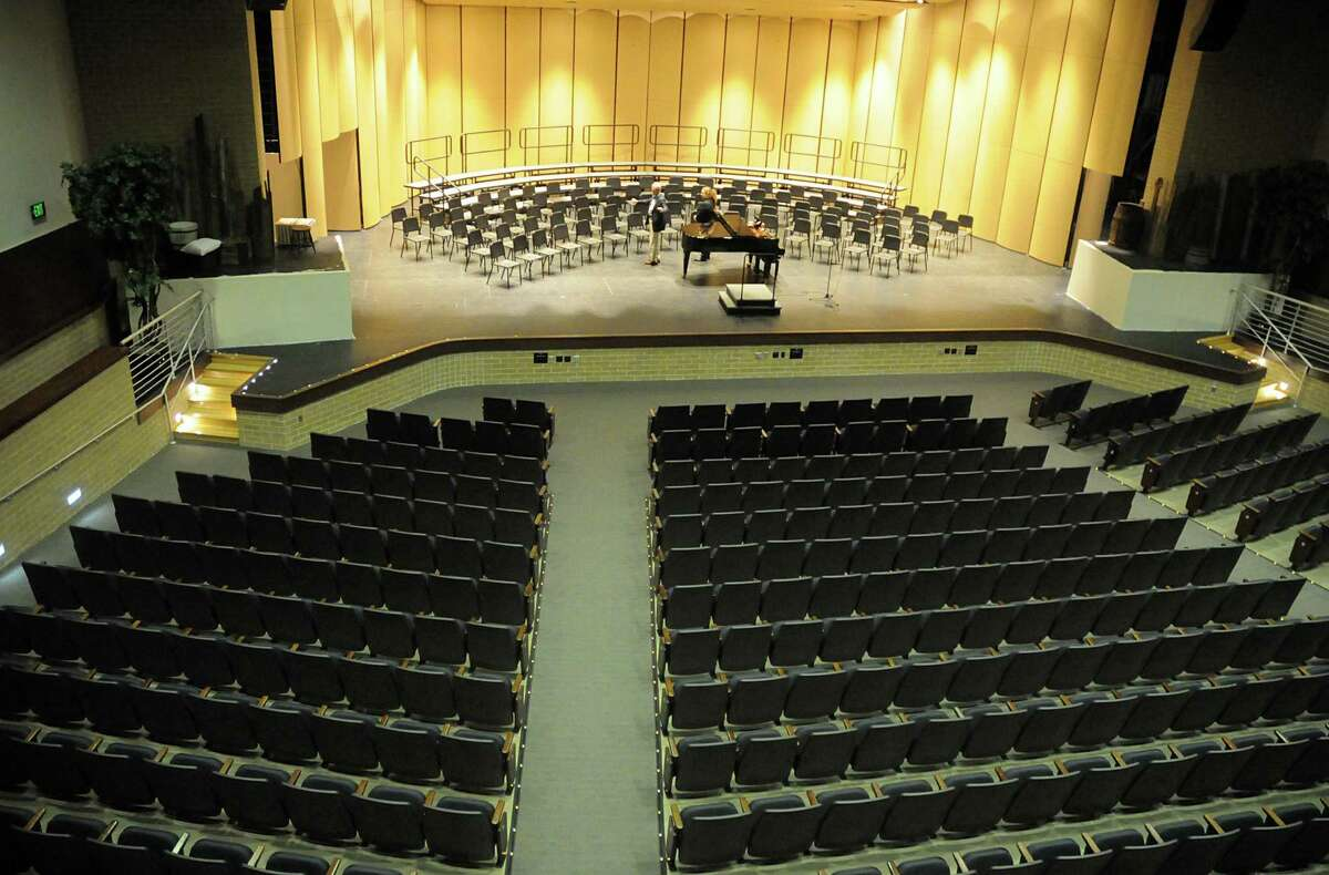 The new auditorium can seat almost a 1,000 students at the newly renovated Klein High School campus. Crews are putting the finishing touches on the $123 million renovation to the campus.
