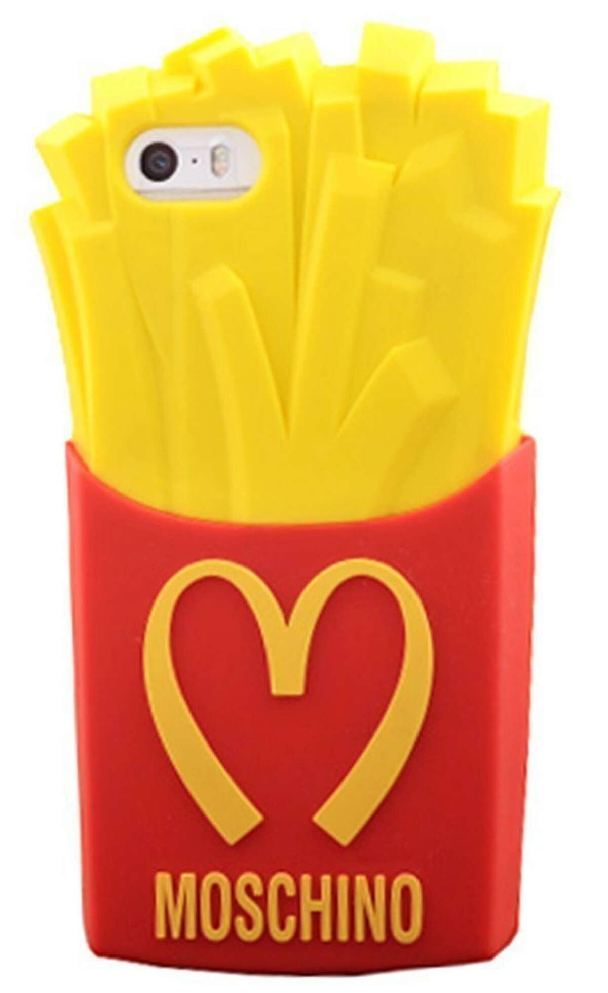 If they already have the phone, you could find them a nice case that helps them express their individuality. For example, Moschino has a selection made to resemble fast-food french fries and a melting ice cream bar.