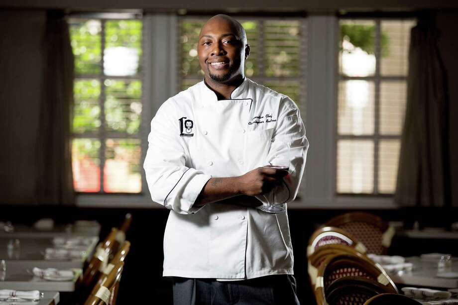 """Christopher Andrus, the new executive chef of the Lancaster Hotel, recently won an episode of the Food Network's """"Cutthroat Kitchen"""" Season 3. Photo: Johnny Hanson, Staff / © 2014  Houston Chronicle"""