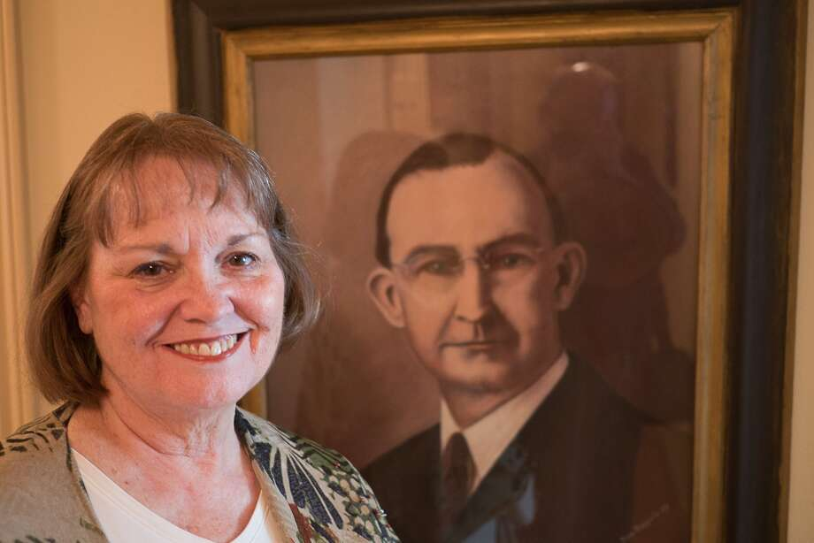Jane Marmion of Briargrove is proud of the legacy left by her grandfather, T.C. Jester. Photo: R. Clayton McKee, Freelance / © R. Clayton McKee