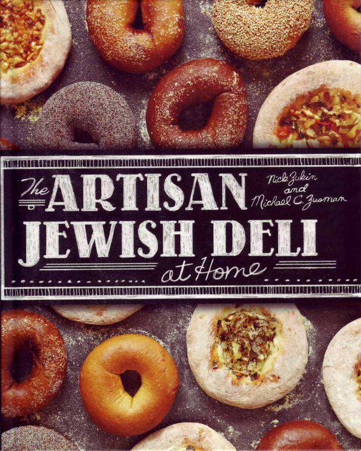 "Looking for some cooking tips for the holidays? Greenwich Library's Assistant Manager of Lending Services Karen Harris highly recommend ""The Artisan Jewish Deli,"" by Michael Zusman. Photo: Contributed Photo / Greenwich Time Contributed"