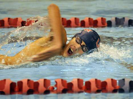 Lamar's Riley Carson is expected to contend in the 200- and 500-meter freestyle events this season. Photo: Jerry Baker, Freelance