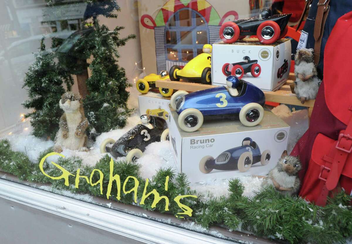 Graham's toy store at 60 Greenwich Avenue has closed down after 13 years.