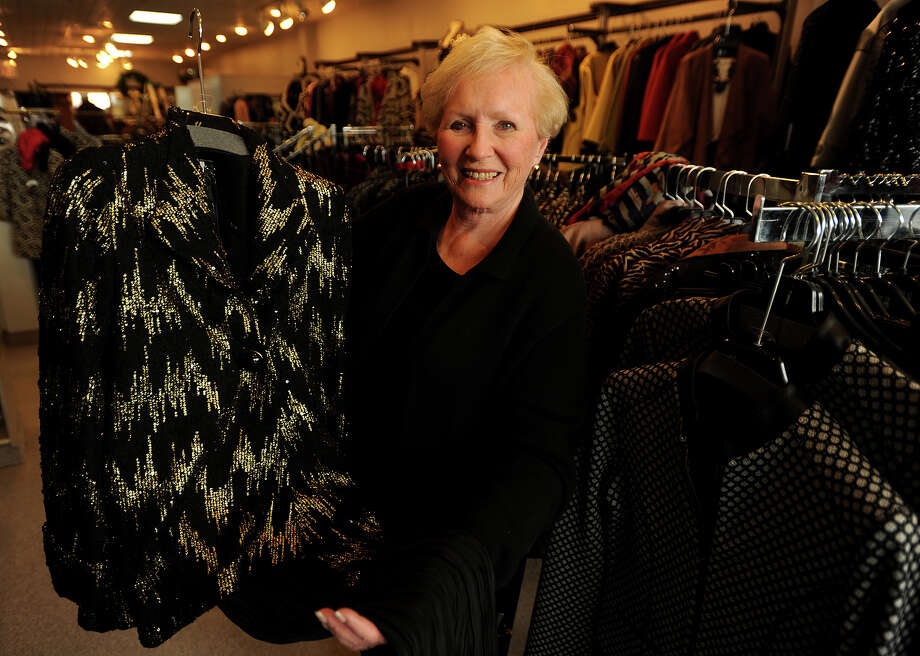 Owner/buyer Selma Gold sells fashionable women's outfits perfect for holiday parties at Harper's of Fairfield at 2246 Black Rock Turnpike in Fairfield Conn. on Tuesday, December 2, 2014. Photo: Brian A. Pounds / Connecticut Post