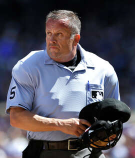 Umpire Dale Scott has worked three World Series and three All-Star Games