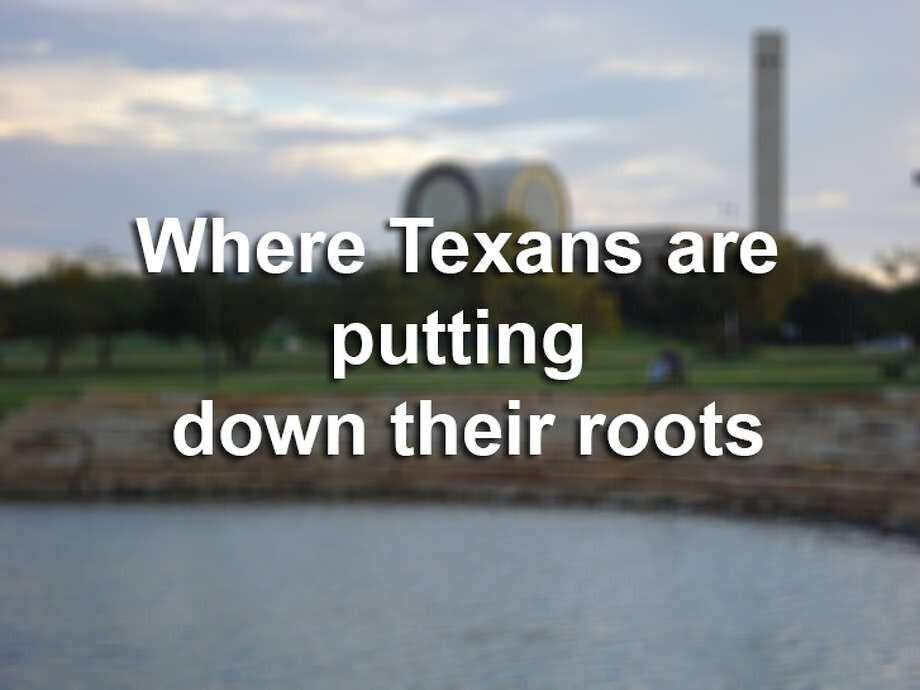 "Governing compiled census data to show how entrenched or ""deeply rooted"" the populations of U.S. cities' are within their community.Scroll through to see which Texas cities are more ""deeply rooted."""
