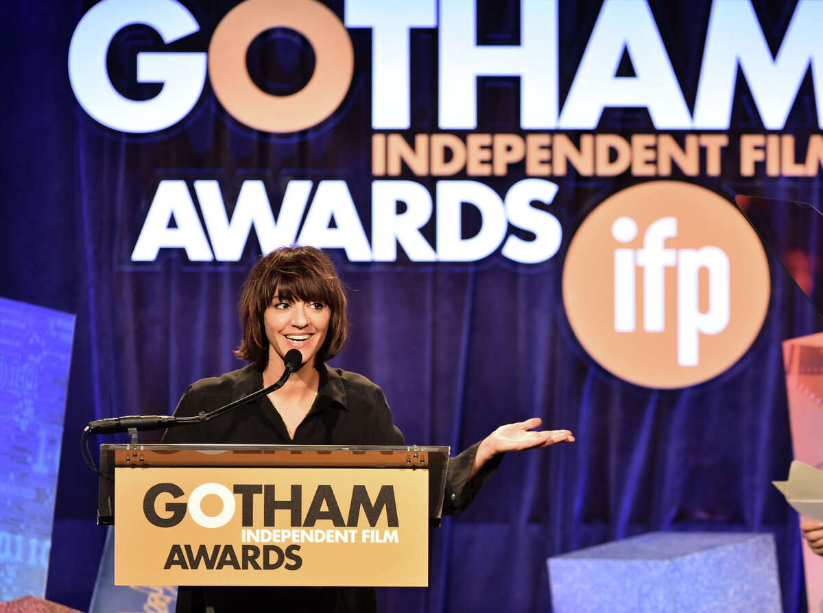 Ana Lily Amirpour, shown at the 24th Gotham Independent Film Awards at in New York City, gave a new twist to the vampire flick.
