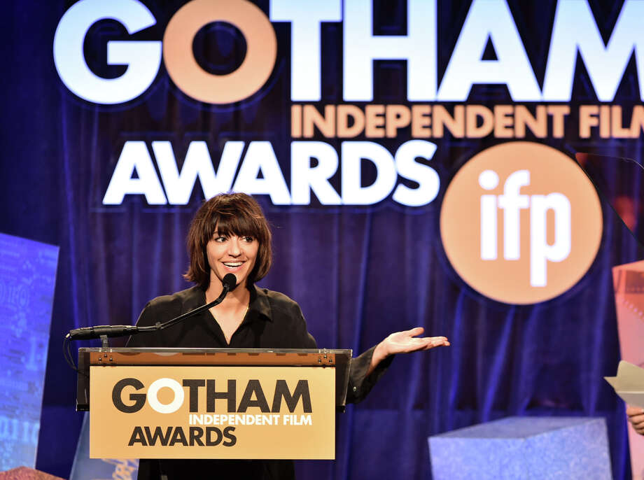 Ana Lily Amirpour, shown at the 24th Gotham Independent Film Awards at in New York City, gave a new twist to the vampire flick. Photo: Theo Wargo / Getty Images For IFP / 2014 Getty Images