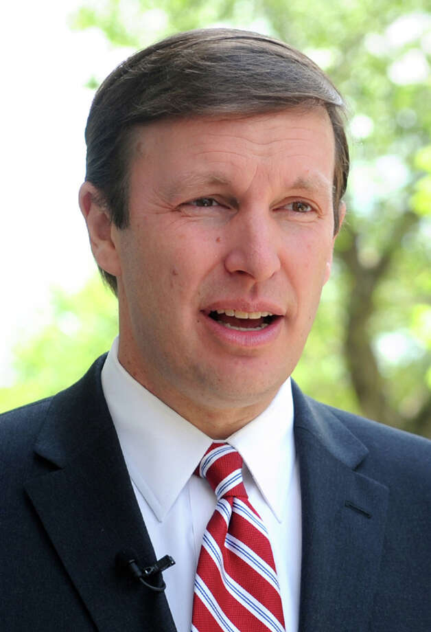 Senator Chris Murphy Photo: Ned Gerard / Connecticut Post