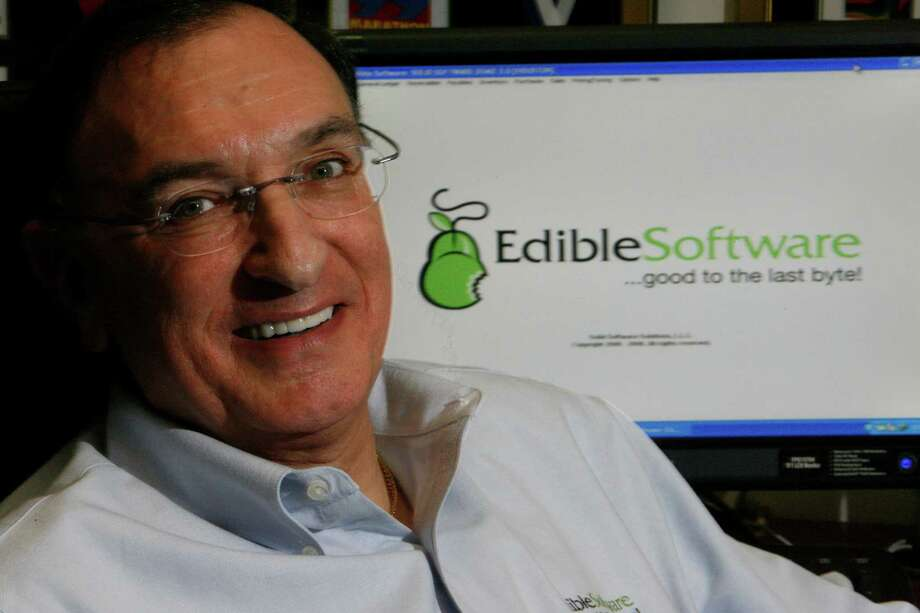 Portrait of Henri Morris, president of Edible Software, a product of Solid Software Solutions, L.L.C. in his Houston office, Tuesday, April 29, 2008. Edible Software provides tracking, inventory and accounting software for the wholesale food industry. ( Johnny Hanson /  Chronicle ) Photo: Johnny Hanson, Staff / Houston Chronicle