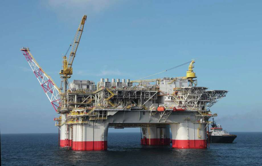 Chevron Corp.'s  Jack/St. Malo production platform produces 70,000 barrels of oil per day from the Gulf of Mexico's challenging Lower Tertiary trend.  (Chevron Corp.) Photo: Chevron Corp.