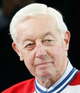 Jean Beliveau of the Montreal Canadiens was the NHL's MVP in 1956 and 1964.