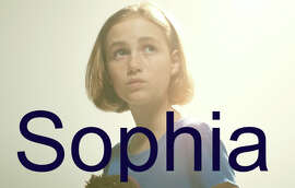 "GIRLS No. 1 Sophia: A smart and sensuous name that means ""Wisdom,"" Sophia has been at the top of BabyCenter's list for five years. Hollywood actress Sophia Loren is the most famous to have ever carried this name but a more current Sophia in the limelight is the quiet, shy girl who survived the outbreak in the hugely popular TV series ""The Walking Dead."""
